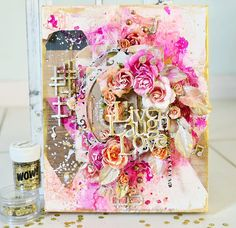2 Crafty Chipboard : Stacey's October Creations- canvas