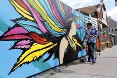 In Little Village, artist fights graffiti with graffiti