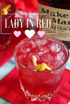 3 Easy Valentine's Day cocktails: Lady in Red