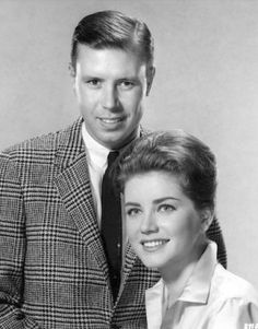 Don Robinson & Dolores Hart