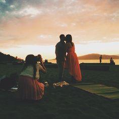 awesome vancouver wedding Mi @miyathewhite shooting Chris&Shauna's four-season engagement today! It's definitely a hot summer feel;) #bts #bridal #dressrental #dress #vsco #vscocam #vscocam #vscogram #vancouver #vscophile #photoshoot #photographer#asian#girl#pretty#engagement#shoot #studio#jumistory#sunset#yvr #beach#summer  #vancouverengagement #vancouverwedding #vancouverwedding