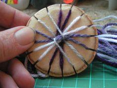 DIY braiding loom