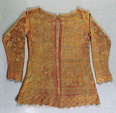 Knitted Jacket, 1600-25, Museo Stiberg, © Moda a Firenze 1540-1580, Roberta Orsini Landini, Bruna Niccoli