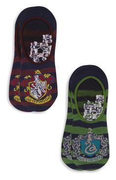 2 Pack Harry Potter Trainer Socks