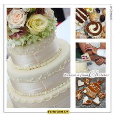 Zuzana a Jirkaj, svatební dort Chotěšov