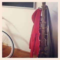 Reused Christmas Tree Coat Hanger