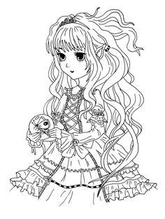 7 besten Malvorlagen Manga + Anime   kostenlos zum ausdrucken