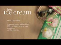 Free ice cream - Recipes - Slimming World