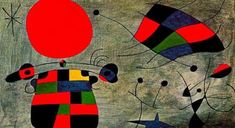 The Smile of the Flamboyant Wings 1953 Painting By Joan Miro Art Sur Toile, Teaching Shapes, Spanish Art, Spanish Painters, Flamboyant, Mark Rothko, Oil Painting Reproductions, Caravaggio, Magritte