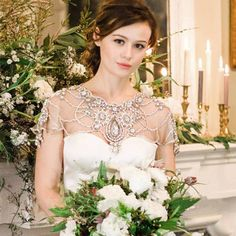 wedding bolero beaded - Google Search
