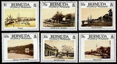 Bermuda Photography Stamps Postage Stamps, Photography, Painting, Art, Art Background, Photograph, Fotografie, Painting Art, Kunst