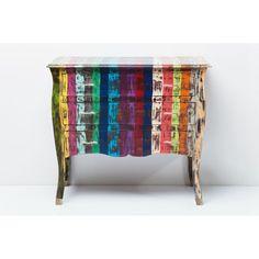 Συρταριέρα Rainbow Vintage Bunt, Vintage, Kids Room, Cabinet, Table, Furniture, Rainbows, Home Decor, Sideboard