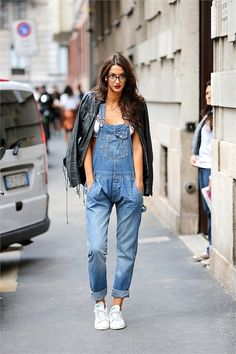 respect-elegance:  naimabarcelona:  Sara Rossetto - Street Style, MFW Spring 2015.  ♡