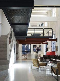 beautiful chicago loft interior by bertrand benoit basement rh in pinterest com architect loft design architect loft design