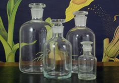 Clear Science Apothecary Jars. Vintage & Nostalgia Co. From $6.95