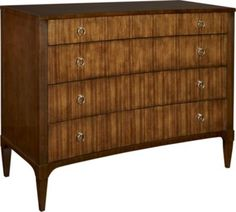 Artisan Curved Front Chest - Mahogany from the 1911 Collection collection by Hickory Chair Furniture Co.