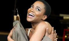 Nonhlanhla Kheswa in Peter Brook's The Suit --- Young Vic, London
