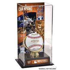 """Buster Posey San Francisco Giants Fanatics Authentic 2014 World Series Champions 10"""" x 5.5"""" Gold Glove Baseball Display Case - $49.99"""