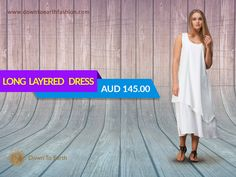 Enhance your wardrobe with ethical and sustainable clothing. Shop at: downtoearthfashion.com       #LinenFashion #LongLayeredDress #LinenDress #SustainableClothes #EthicallyManufactured
