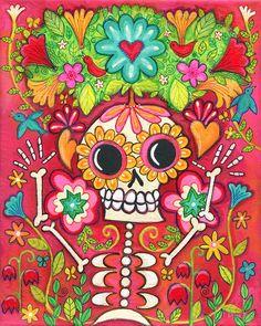 DIA DE LOS MUERTOS/DAY OF THE DEAD~The Gardener by Pink-Ivy