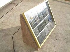 How To Make A Large Solar Panel From Yard Solar Lights