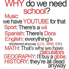 26 funny quotes about school - Quotes and Humor Crazy Funny Memes, Really Funny Memes, Funny Relatable Memes, Funny Texts, Funny Pics, Funny Pictures, Funny Humor, Hilarious Quotes, Funny Stuff