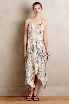 Ianthe Embroidered Dress (no longer available) #anthropologie