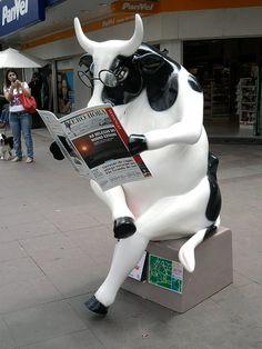 Cow Parade - Porto Alegre, Brazil