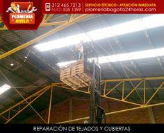 Trabajos en alturas - reparación de tejados