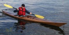 Shearwater 17 Sea Kayak: Beautiful Light Touring Kayak Kit with Sapele Decks