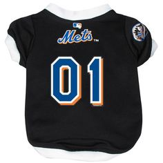 MLB Dog Jersey Size: Medium (12 H x 9.5 W x 0.5 D), MLB Team: New York Mets Size: Medium.. Satisfaction Ensured. Your Pet will Love it.. Makes for a great Gift..  #DoggieNation #Pet_Products