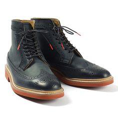 Dark Navy boots