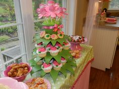 "Photo 1 of 71: Fairy Tea Party / Birthday ""Fairy tea party and polkadots"" | Catch My Party"