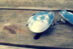 ulubione okulary - aviatorki!