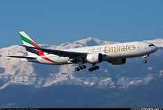 Emirates A6-EWA Boeing 777-21H/LR aircraft picture