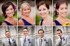 10 Must-Take Wedding Photos: some are obvious, but love the idea of head shots of the wedding party.