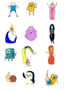 12 Stand Up Adventure Time Characters Edible Wafer Rice Paper Cupcake Toppers Wafer Paper Cake, Paper Cupcake, Birthday Cake Toppers, Cupcake Toppers, Birthday Cakes, Adventure Time Cupcakes, Adventure Time Characters, Character Cakes, Rice Paper
