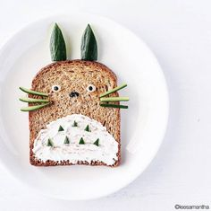 Playful and Amazing Food Art – Fubiz Media Cute Food, Good Food, Amazing Food Art, Food Art For Kids, Art Kids, Kawaii Dessert, Creative Food Art, Boite A Lunch, Food Artists