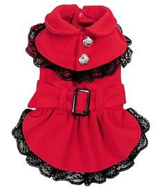 SELMAI Princess Dog Dress Parka Jacket Girl Dog Coats Ple... https://www.amazon.com/dp/B01K4AJBF0/ref=cm_sw_r_pi_dp_x_LuopybXMG7AF9