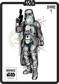 Star Wars design - Fan Art #STARWARS SANDTROOPER