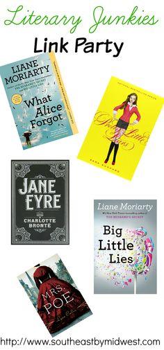 Literary Junkies June Link Party #literary #literaryjunkies #linkparty #books #bookclub