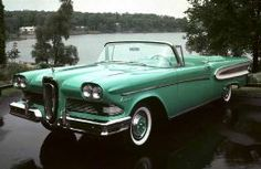 Ford Edsel - I want to drive this wearing bright red lipstick!