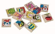 Detoa Pexeso klauni 12ks Coasters, Drink Coasters, Coaster Set, Coaster