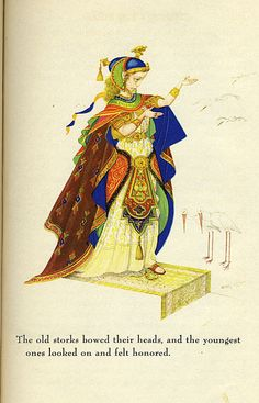 The Marsh King's Daughter  Andersen's Fairy Tales, Illustrated by Arthur Szyk