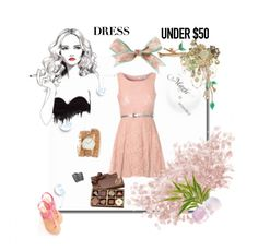 """""""dressunder50"""" by tempestaartica ❤ liked on Polyvore"""