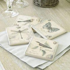 Nature's Coasters Gift Set