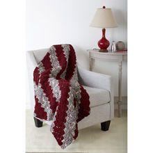 Bernat® Blanket™ Diagonal Blocks Crochet Blanket