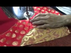 How to make Fashionable designer blouse I part 4 of 4
