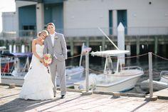 Norfolk Waterfront Nautical Wedding