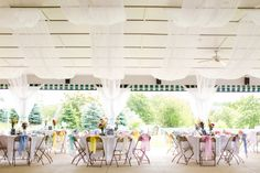 colorful shabby chic reception, fabric draped gazebo ceiling, rustic handmade wedding, Katelyn James Photography